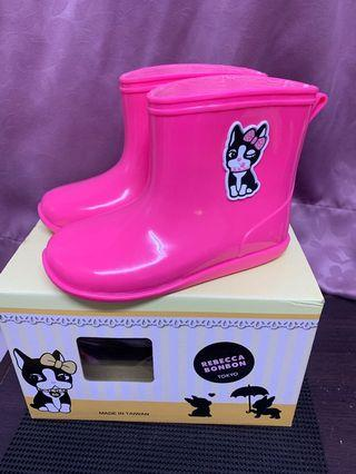 Rebecca bonbon 女童雨鞋