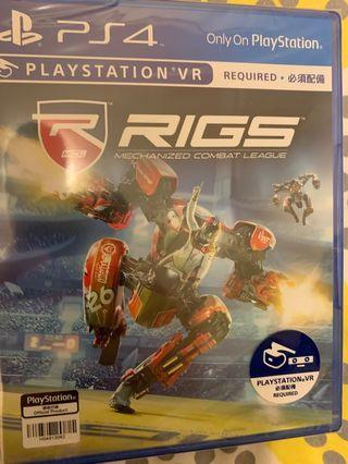 PS4 Game RIGS VR game
