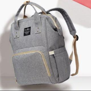 🚚 Diaper bag backpack - grey