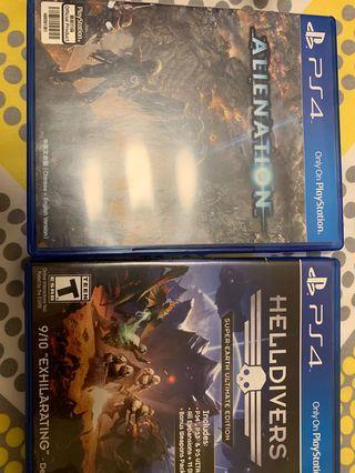 Alienation and Helldivers