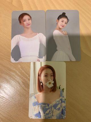 🚚 [wtt/wts] oh my girl ssfwl photocards