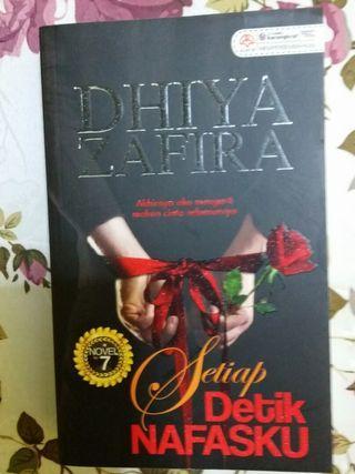 Novel Setiap Detik Nafasku, Dhiya Zafira