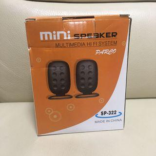 Parco mini speaker 迷你喇叭