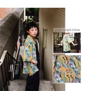 古著 • 絲質襯衫