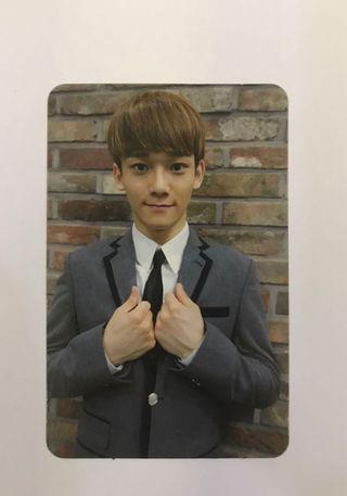 Exo Growl album photocard (Chen) #Carouselland