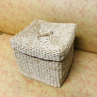 方型編織竹籃子🧺