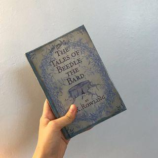 The Tales of Beedle The Bard and Quidditch Through The Ages by JK Rowling