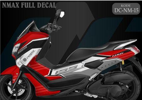 Preorder Nmax Full Body Decal