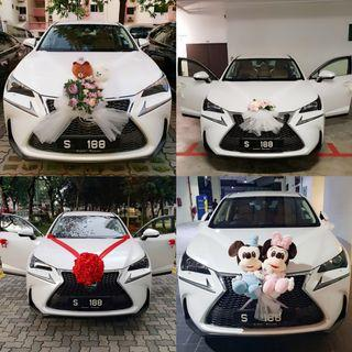 Wedding Car Rental With Auspicious Plate Number