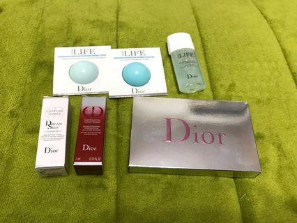 🚚 迪奧 Dior 花植水漾系列(化妝水+保濕凝霜+眼凝霜)+夢幻美肌萃+唇卡