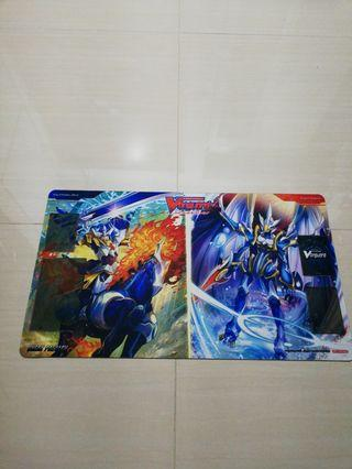 King of knights/waterfall Vanguard playmat for sales