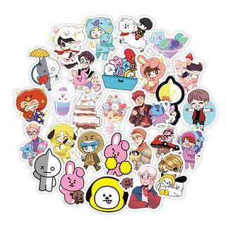 BT21 BTS STICKER SET / 100 pcs