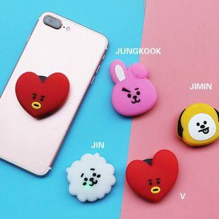 BT21 BTS LIGHT PHONE POP SOCKET