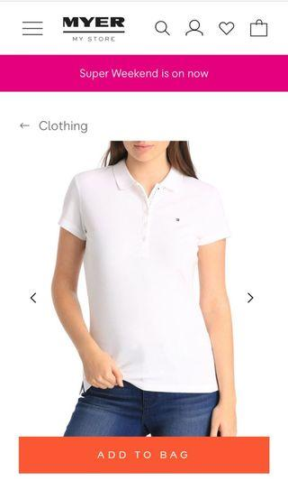 Tommy Hilfiger White Polo