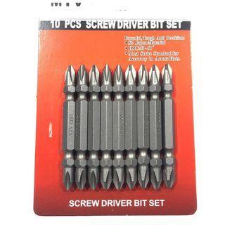 Screw drill bits