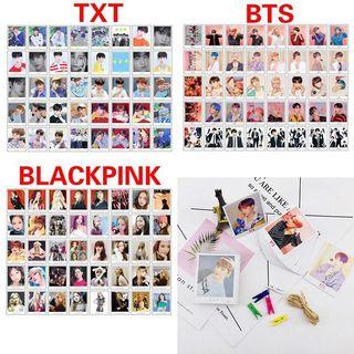 BTS TXT BLACKPINK LOMOCARD SET 40 PCS
