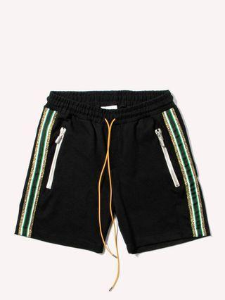 Authentic Rhude Traxedo Shorts Black