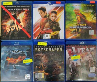 Original Bluray Movies