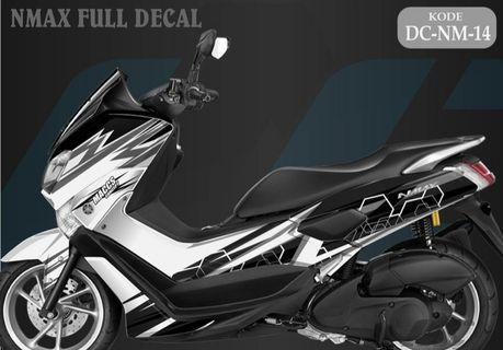 Preorder Yamaha Nmax Full Body Decal