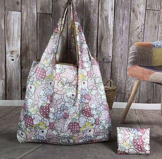 Brand New My Melody Foldable Recycle Bag Medium Size