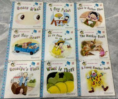 9 preschool English books