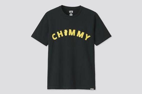 【WTB】BT21 X UNIQLO Chimmy Black Shirt S/M Size