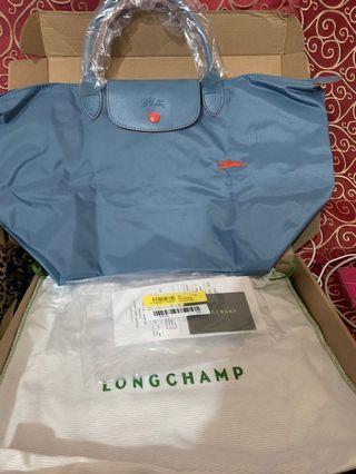 🚚 Longchamp刺繡馬短柄手提包/水餃包1:1