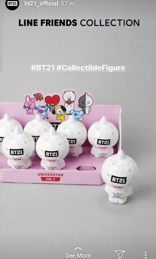 BT21 Collectable Figure Blind Pack Vol.1 (Base Camp Theme)