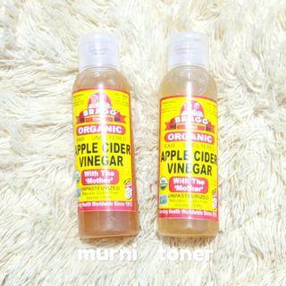 Bragg Apple Cider Vinegar murni & toner HARGA PAS FREEONGKIR JABODETABEK