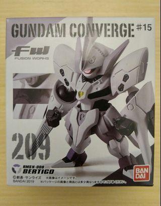 歡迎交換 全新 FW Gundam Converge 209 Bertigo