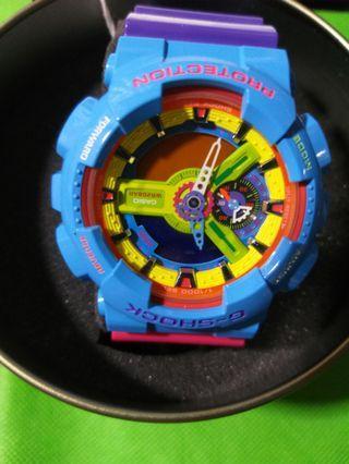 Casio G Shock GA-110F-2DR Manbox Original Limited Edition 《 100%全新 彩虹版》 (齊配件 全新電 配鋼盒)