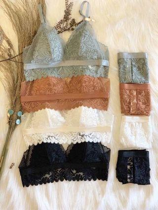 🚚 Lace Bralette ( 2 pieces for 1 set)