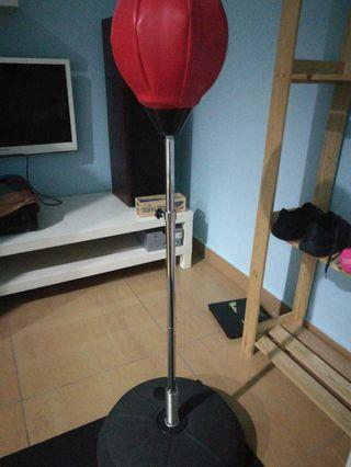 Punching ball standing