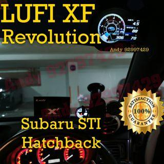 Subaru STI Hatchback Lufi XF Revolution OBD OBD2 Gauge Meter display