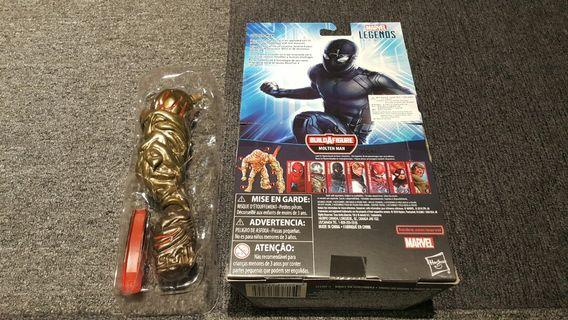 先閱文,後發問 Marvel Legends  Molten man BAF
