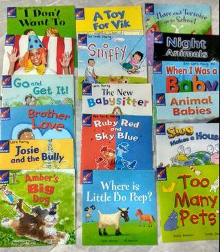 17 Rigby Rocket Preschool books