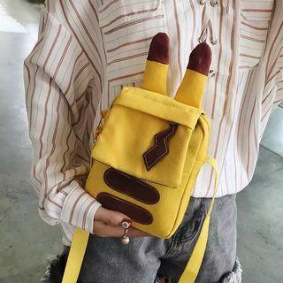 (PO) Pikachu shape sling bag