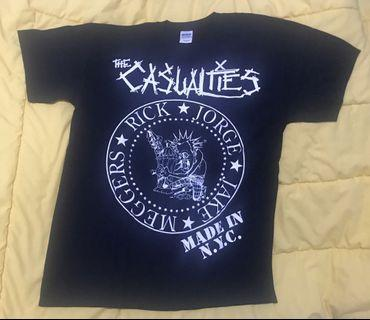 The Casualties OFFICIAL - Made In NYC ramones