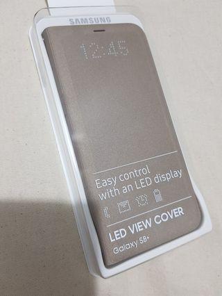 原廠三星samsung S8+ Led皮革背蓋