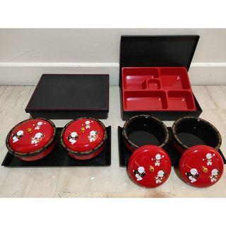 Bento Set And Bowls
