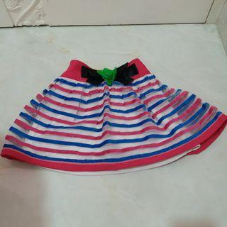 Flare Striped Skirts