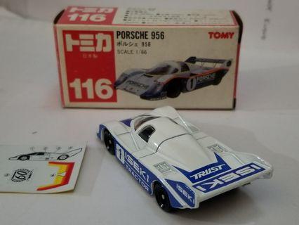 Tomica Porsche 956 no 116 日製