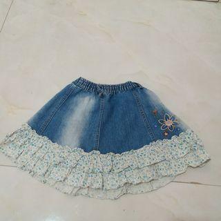 Rok Jeans Flowery