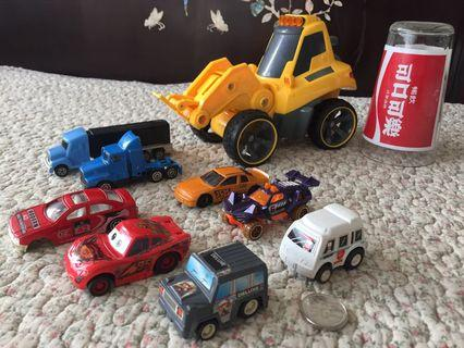 Toy Cars (9 pieces)