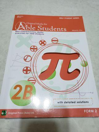 Able Students Maths 2B