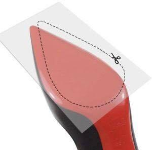 3m clear bottom sole shoe protector tape for high heels