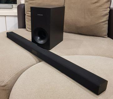 Samsung F355 2.1CH Bluetooth Sound bar with Subwoofer