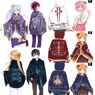 Anime 2in1 Cape And Blanket