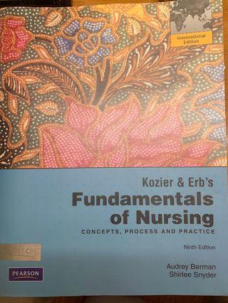 Kozier & Erb's Fundamentals of Nursing(concept,process and practice)
