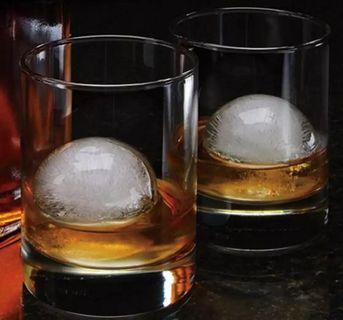 Round Ice Maker / Whiskey Round Ice / Ice Mould / Ice Tray/ Circular Ice mould #MRTTampines